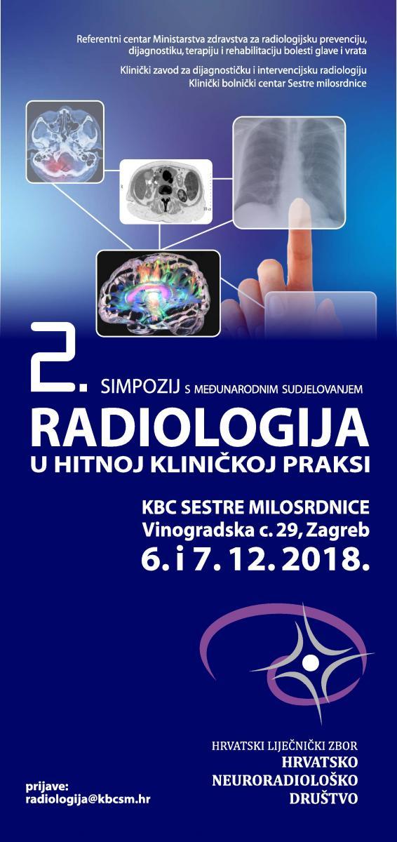 2. Simpozij s međunarodnim sudjelovanjem Radiologija u hitnoj kliničkoj praksi